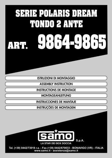 SpA SERIE POLARIS DREAM TONDO 2 ANTE - Samo