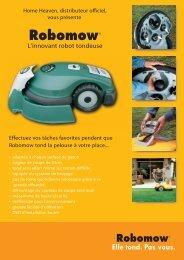 L'innovant robot tondeuse - Home Heaven