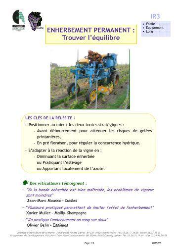 Guide enherbement chambres d 39 agriculture de rh ne alpes - Chambre d agriculture des hautes alpes ...