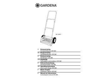 OM, Gardena, Tondeuse à gazon 370 SM, Art 02451-20, 2002-12