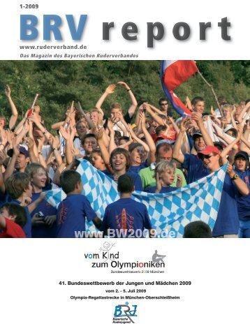 Ausgabe 1-2009 - Bayerischer Ruderverband