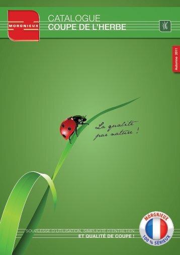 """Télécharger le catalogue """"Coupe de l'herbe"""" - MORGNIEUX"""