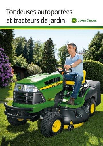 Tondeuses autoportées et tracteurs de jardin - Baumgartner-Pampigny