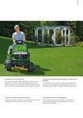 Tondeuses autoportées et tracteurs de jardin - Baumgartner-Pampigny - Page 5