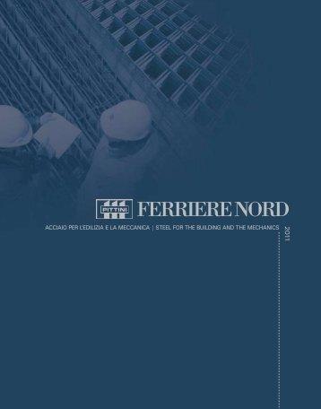 catalogo prodotti - FERRIERE NORD SpA - Gruppo Pittini