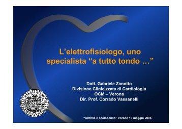 L'elettrofisiologo, uno specialista a tutto tondo - Cuorediverona.it