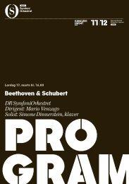 Hent programmet til Beethoven & Schubert - DR