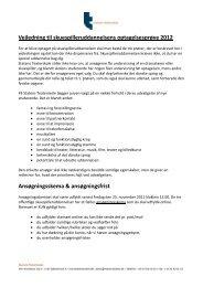 Vejledning til skuespilleruddannelsens optagelsesprøve 2012 ...