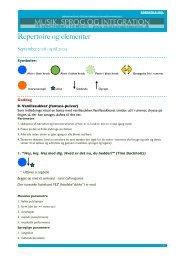Repertoire BH 09_10 - Musik, Sprog og Integration