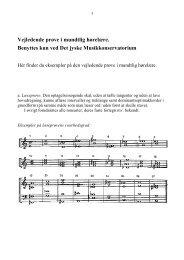 Eksempler - musikkons.dk