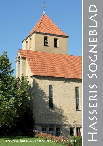 september, oktober og november 2011 . Årgang 55 - Hasseris Kirke