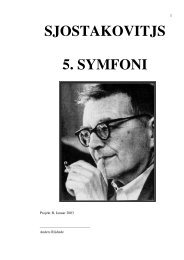 SJOSTAKOVITJS 5. SYMFONI