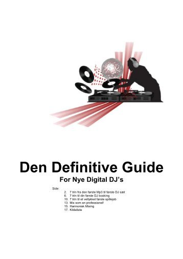 The Definitive Guide For New Digital DJ's - DJ Peter Perfect
