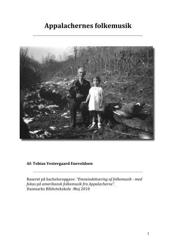 Appalachernes folkemusik beskrevet og defineret - Tobias Enevoldsen