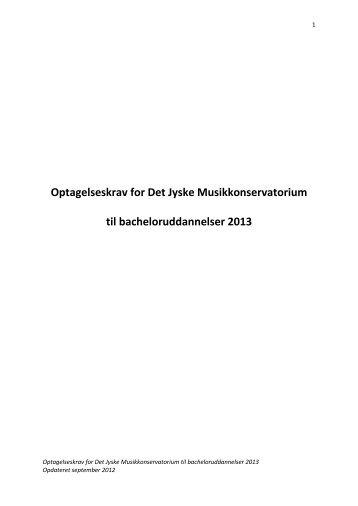 Bachelor - musikkons.dk