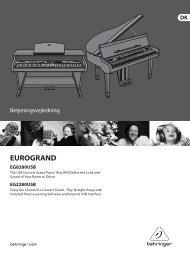 EUROGRAND EG8280USB/EG2280USB - Behringer