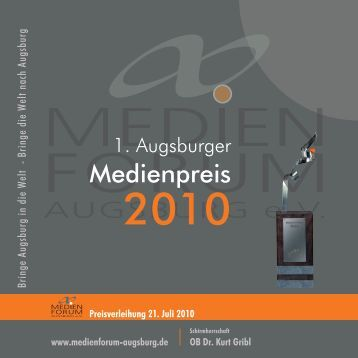 1. preis - Medienforum Augsburg