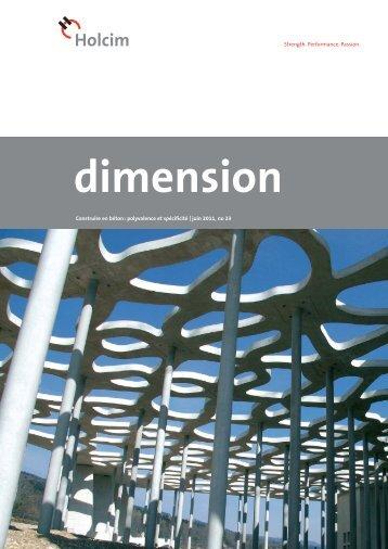 dimension 1/11 - Holcim