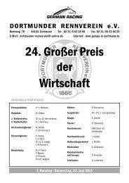 Katalog 1 - Dortmunder Rennverein e.V.