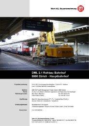Referenzblattgenerator Seiten 1 & 2 - Marti AG, Bauunternehmung ...