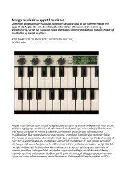 Artikel om Apps (Musikeren) - Middelfart Musikskole