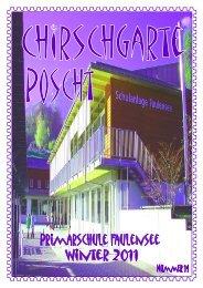 Chirschgarteposcht Nr.14 - Primarschulen Spiez