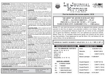 journal hippique pmub