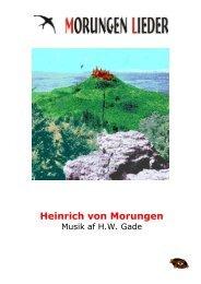 morungen_lieder - NORDISC Music & Text