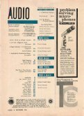 AUDIO MAGAZINE DECEMBER 1962 - Vintage Vacuum Audio - Page 3