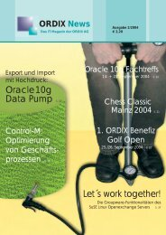 PDF ansehen (1.0 MB) - ORDIX AG in