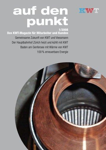 auf den Punkt - Ausgabe 01 2008 - Kwt - Viessmann