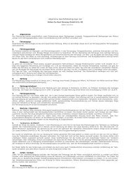 Allgemeine Geschäftsbedingungen der - Athlon Car Lease