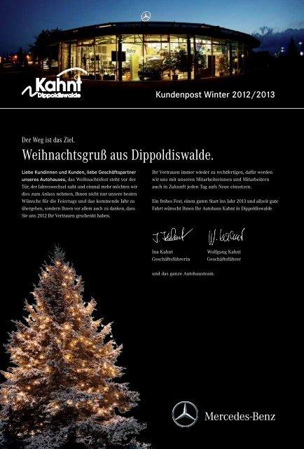 Kundenpost Winter 2012/2013