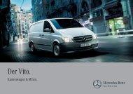 Vito Kastenwagen/Mixto Broschüre - Mercedes-Benz Deutschland