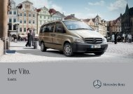 Vito Kombi Broschüre (PDF) - Mercedes-Benz Schweiz
