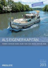 Als eigener Kapitän - Preise 2013 - Reisen & Freizeit TCS