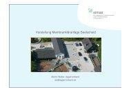 Membrantechnik auf der Kläranlage Seelscheid - Kommunal