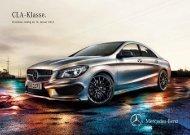 Download Preisliste CLA-Klasse - Mercedes-Benz Deutschland