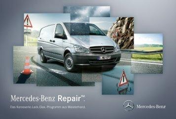 Download Broschüre Mercedes-Benz RepairTM (PDF, 9.221 KB