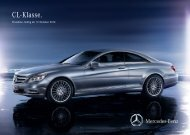 Download Preisliste CL-Klasse - Mercedes-Benz Deutschland