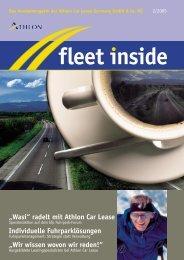 fleet inside - Athlon Car Lease