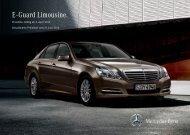 Preisliste E-Guard - Mercedes-Benz Deutschland