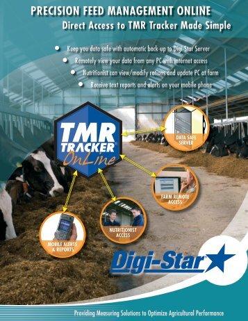 PRECISION FEED MANAGEMENT ONLINE - Digi-Star TMR- Tracker