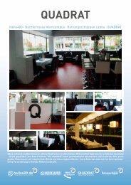 Download PDF Infoblatt Quadrat - Halle 400