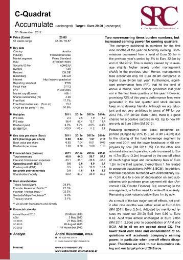 C-Quadrat - SRC Research