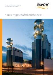 ewmr Konzern Geschäftsbericht 2011