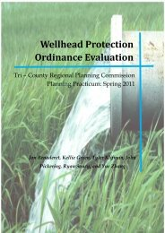 Wellhead Protection Ordinance Evaluation - Center for Community ...