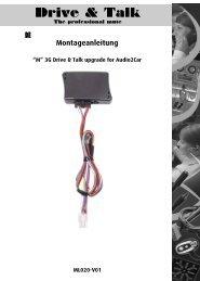 Montageanleitung - Soundsystems