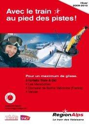 3 forfaits Train & Ski - Hotel La Porte d'Octodure
