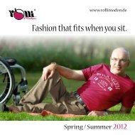 Fashion that fits when you sit - Rolli-Moden